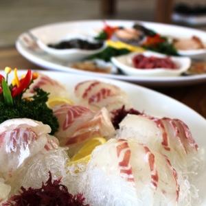 チョンガンフェッチプ【刺身店】(江華島)